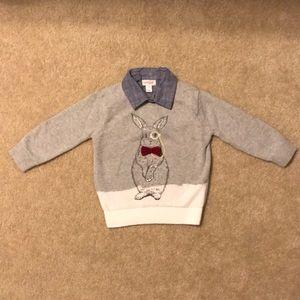 Toddler Boy Easter Sweater : )
